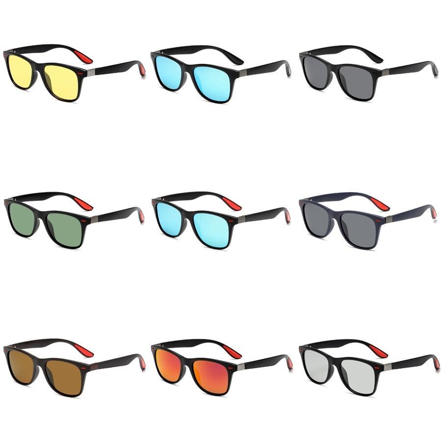 도매-2020 남녀의 HD 노란색 렌즈 구글 선글라스 나이트 비전 고글 자동차 운전 드라이버 안경 안경 UV 차단 # 629