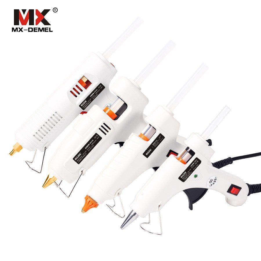 150W Hot Melt Pistolet à colle Thermo gluegun Outils de réparation thermiques industriels électriques armes à feu en silicone pour le métal / bois de travail de bricolage