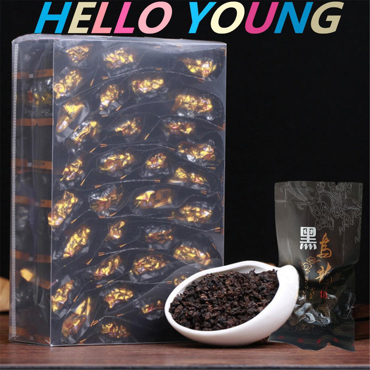 250g Çin Organik Siyah Oolong Çay Fırında Tieguanyin Yeşil Çay Yeni Bahar Çay Sağlıklı Yeşil Gıda Sıcak satış