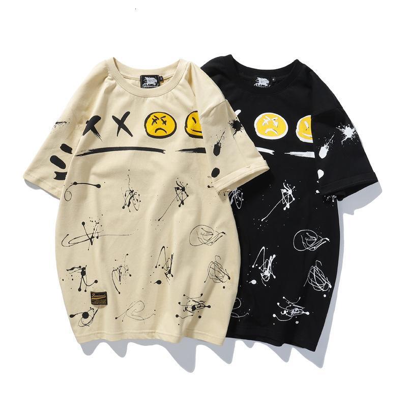 2020 homens de alta qualidade T-shirt moda verão de manga curta casuais confortável em torno do pescoço T-shirt roupas da moda U3OC
