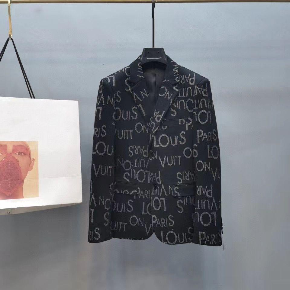 Brand New Suit Giacche Uomo Blazer stilista di alta qualità Blazers cappotto casuale formale Abiti Slim Fit Uomo