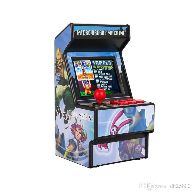 Mini arcade retro children's game console classic nostalgic handheld game console 156 game 16BIT Street Fighter