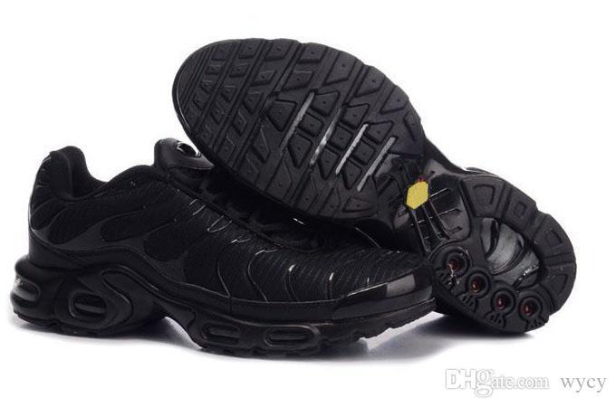 할인 브랜드 스포츠 신발 새로운 쿠션 TN 남성 블랙 화이트 레드 남성 러너 운동화 남자 운동화 테니스 신발을 실행