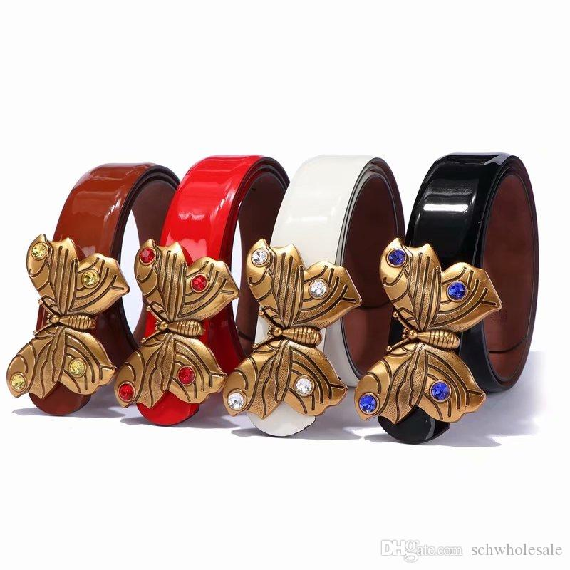 2019 High quality designer business waistbands imports really leather fashion big hoof footwear men's strap belts with