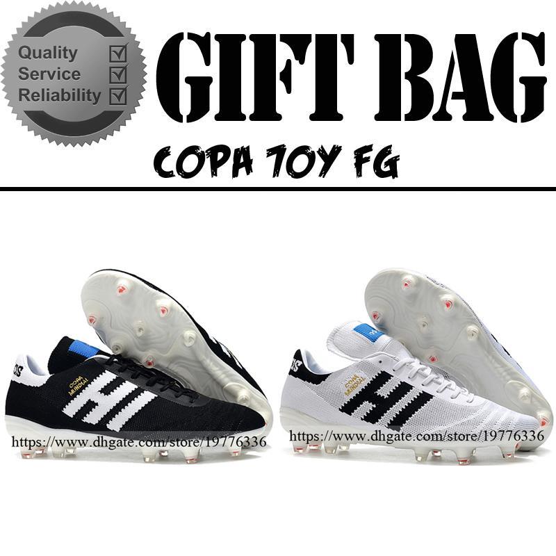 Zapatos para hombre de la Copa 70Y FG Fútbol Fútbol Sala original Primeknit alta calidad Copa Mundial de Fútbol Negro Blanco Botas de Fútbol Tacos Tamaño US6.5-11.5