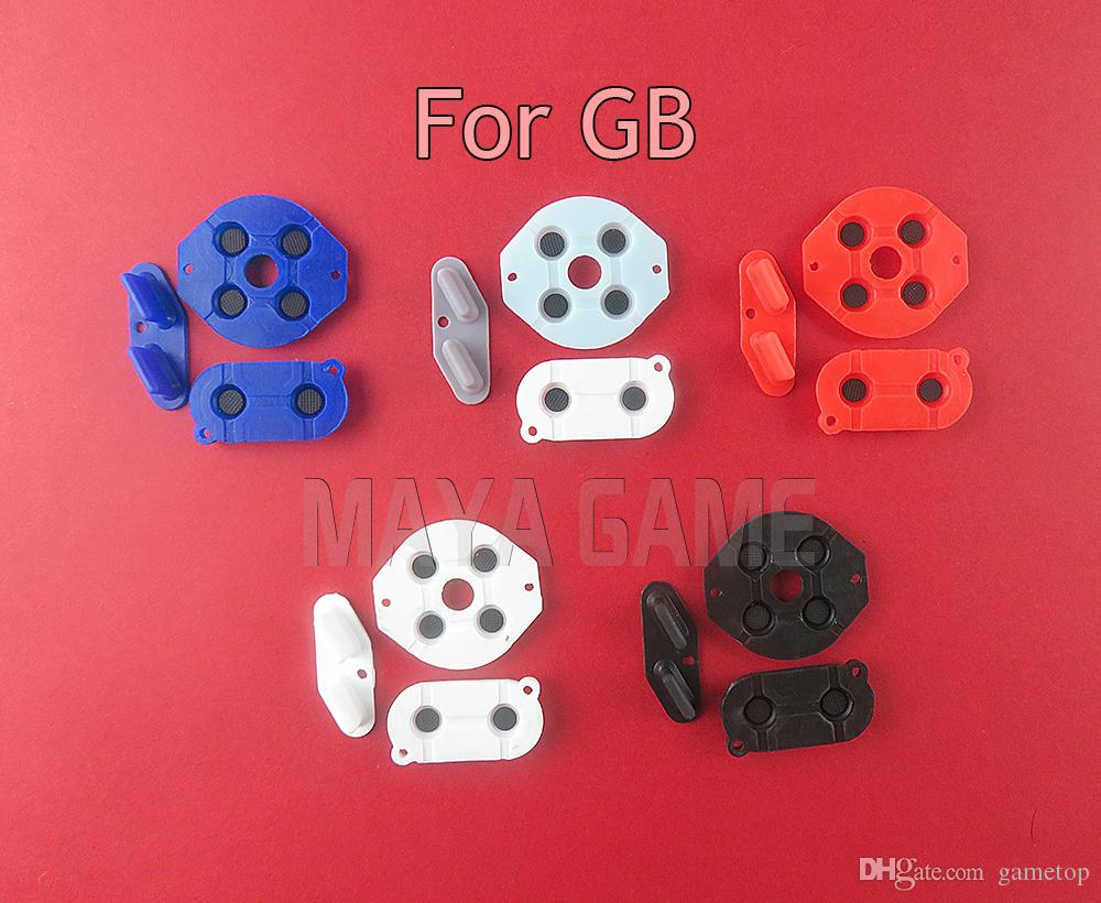 For Gameboy Classic GB Conductive Rubber Pads Conductive adhesive Replacement for GB DMG Game Console