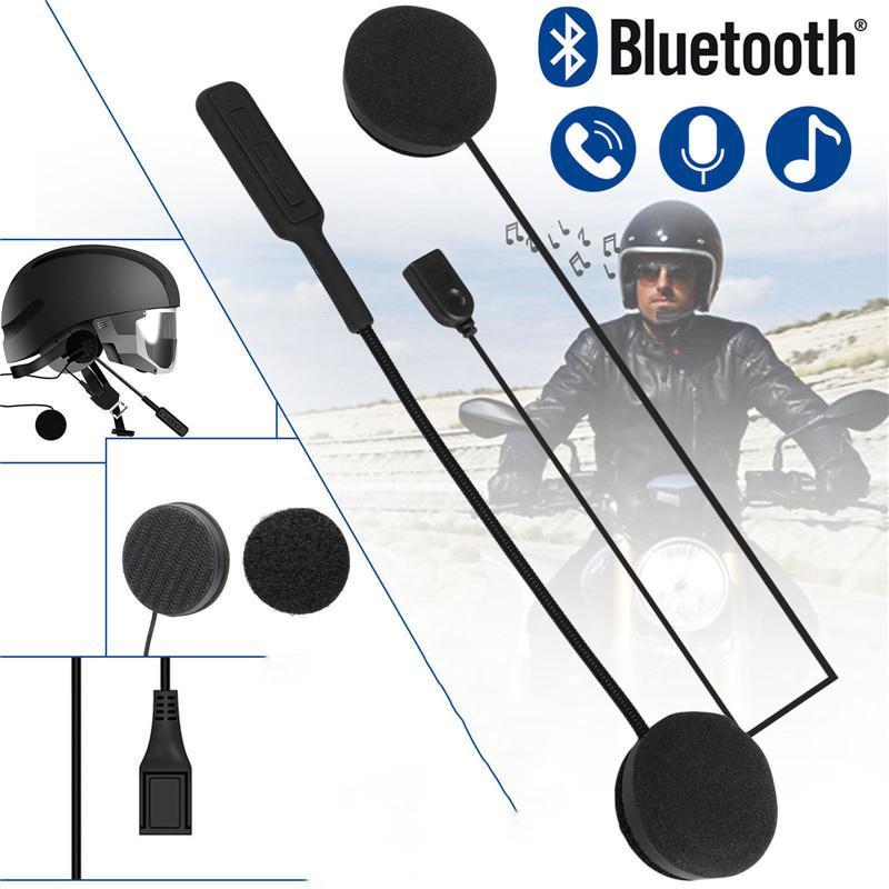 Universal-Bluetooth 5.0 Helm-Kopfhörer-Kopfhörer 3D Stereo Entstörungs für Motorrad-Sturzhelm-Riding Freisprech-Kopfhörer