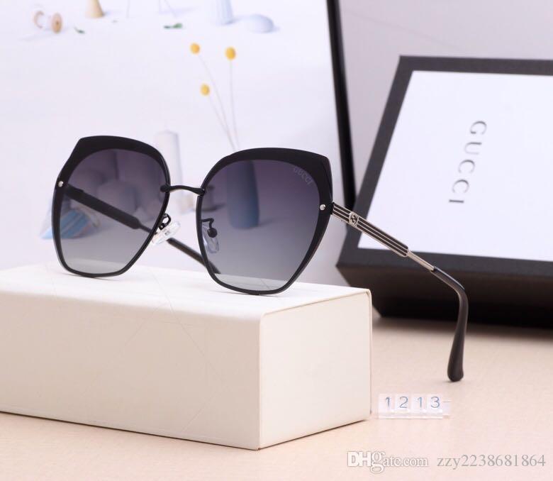 Yeni Moda güneş gözlüğü Marka Tasarımcı güneş gözlüğü erkek Cam Lens Sunglasses unisex gözlük kutusu ile birlikte gelir 3379 güneş gözlüğü womens