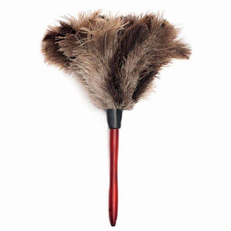 Подумаешь очистки перо страуса перо страуса Duster Мягкие Перья Duster От мебели до лопаток вентилятора Бытовая для очистки Housekee