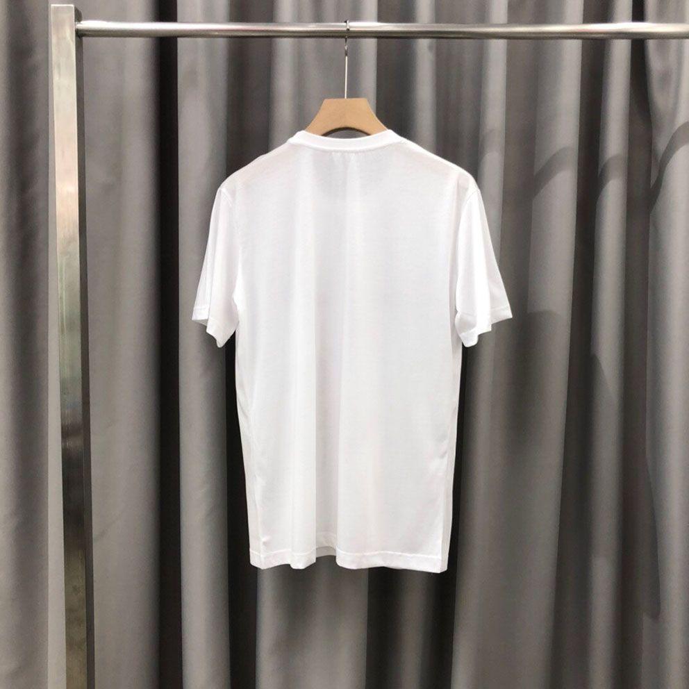 m-l-xl-xxl xxxl Renk: kısa kollu yuvarlak boyun paneli Tişört Boyutu baskı 2020ss ilkbahar ve yaz yeni yüksek dereceli pamuk siyah beyaz zp042