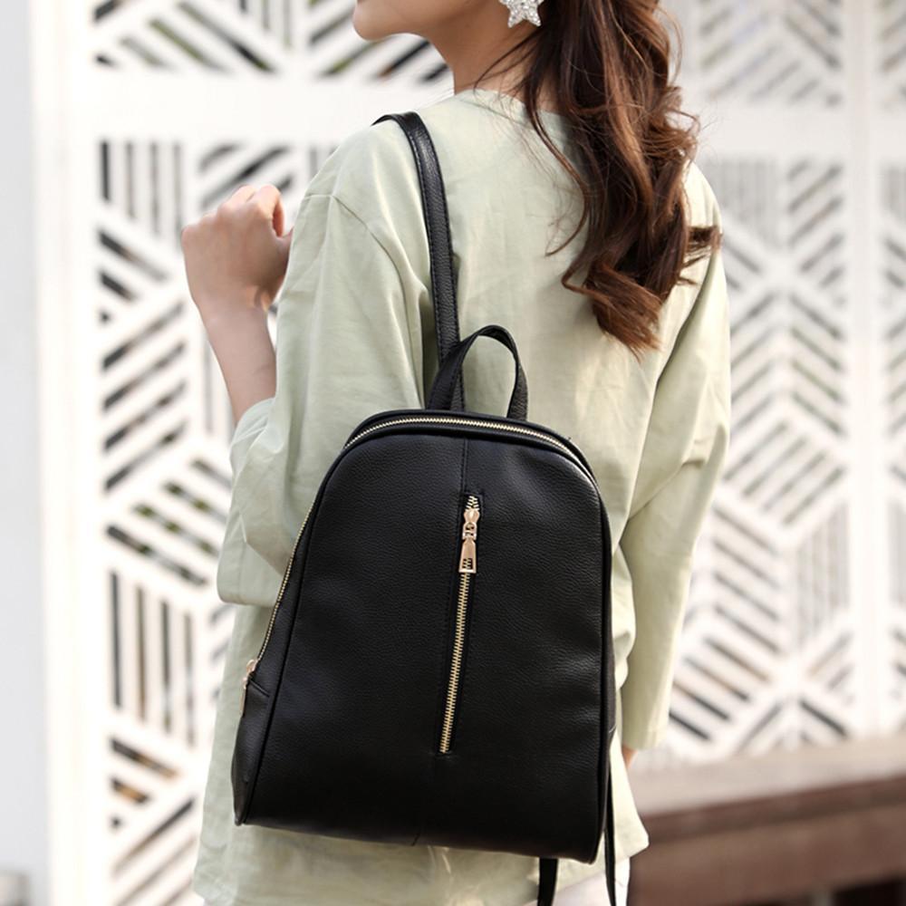 5 # Maison Fabre женщина моды кожа Рюкзак 2019 новый женский Опрятный Стиль Молния Mochila Школа сумка Женская сумка