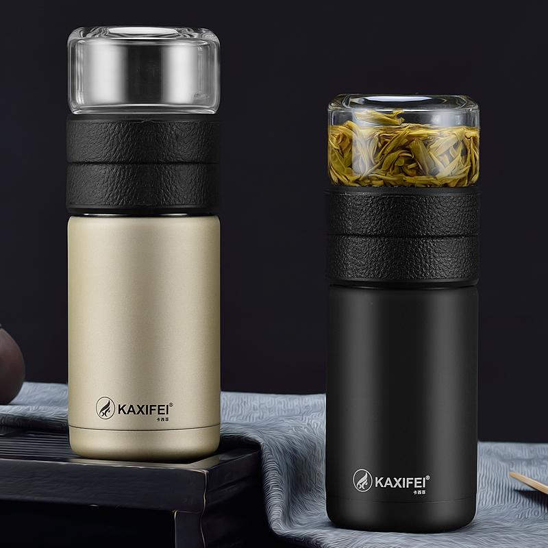 Bottle 600ml My Water Com filtro de aço inoxidável Tumbler Tea Vidro Infuser portátil Esporte Leak Proof água potável para garrafas Promoção