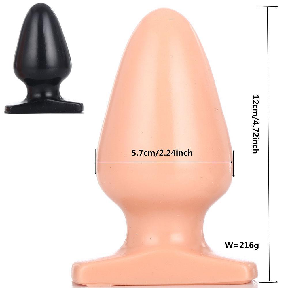 Ass All 4 Anal 120*57mm big anal plug dilatador anus stimulator dilator large butt plug  sex toys for woman ass vaginal expansion buttplug y191030 sexy plug steel