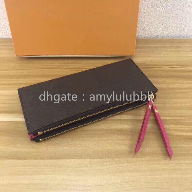 Оптовая продажа классический женский длинный кошелек для женщин многоцветный дизайнерский портмоне держатель карты пакет дамы молния бумажник карман