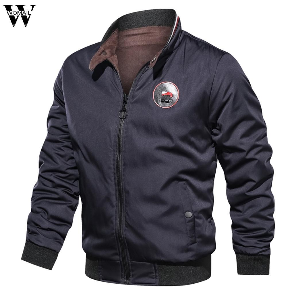Ceketler Erkekler Kış su geçirmez Sıcak Vintage Çok cep Erkek Rahat Ceket streetwear Bombacı Ceket Kalın Parka Dış Giyim Coat 730