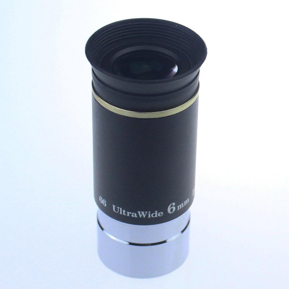 Freeshipping 1.25 inch 66-degree Ultrawide Eyepiece for Astronomy Telescopes