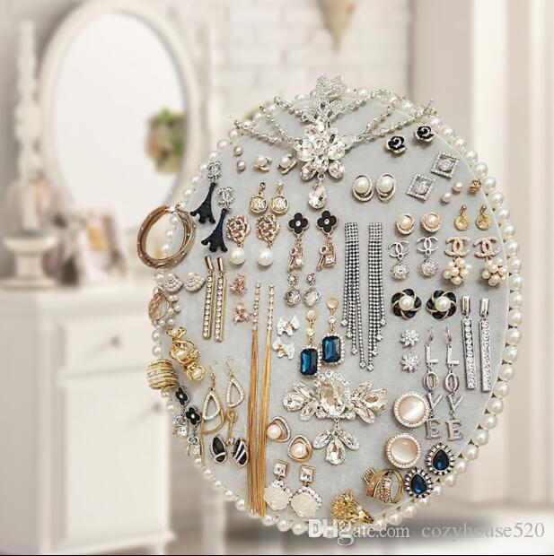 27*22cm 6style Jewelry Stand Frame Display Hanging Board/Earring Jewelry Wall can be hung Receiving Board Home furnishings 1pc C619