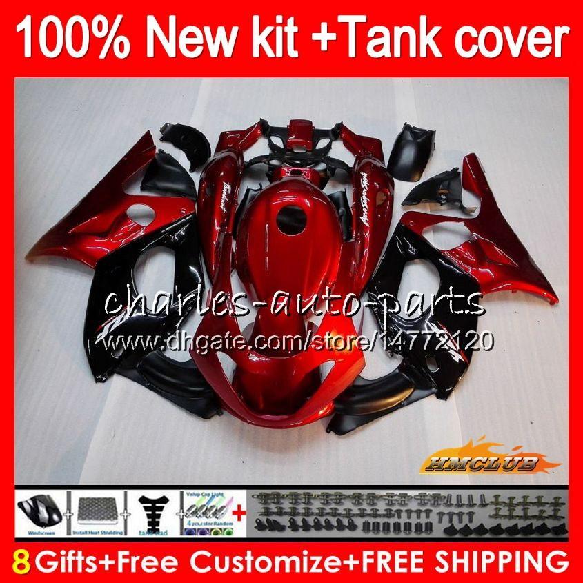 Thundercat för Yamaha Pearl Red Hot YZF 600 R CC 600CC 600R 72HC.11 YZF600R YZF-600R 96 97 98 99 00 01 02 03 04 05 06 07 1996 2007 FAIENINGS