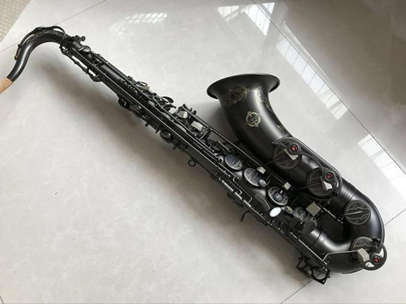 ağızlık Free İle Yeni Suzuki Profesyonel Japon Tenor Saksafon bemol Müzik Woodwide enstrüman Siyah Nikel Altın Sax Hediye