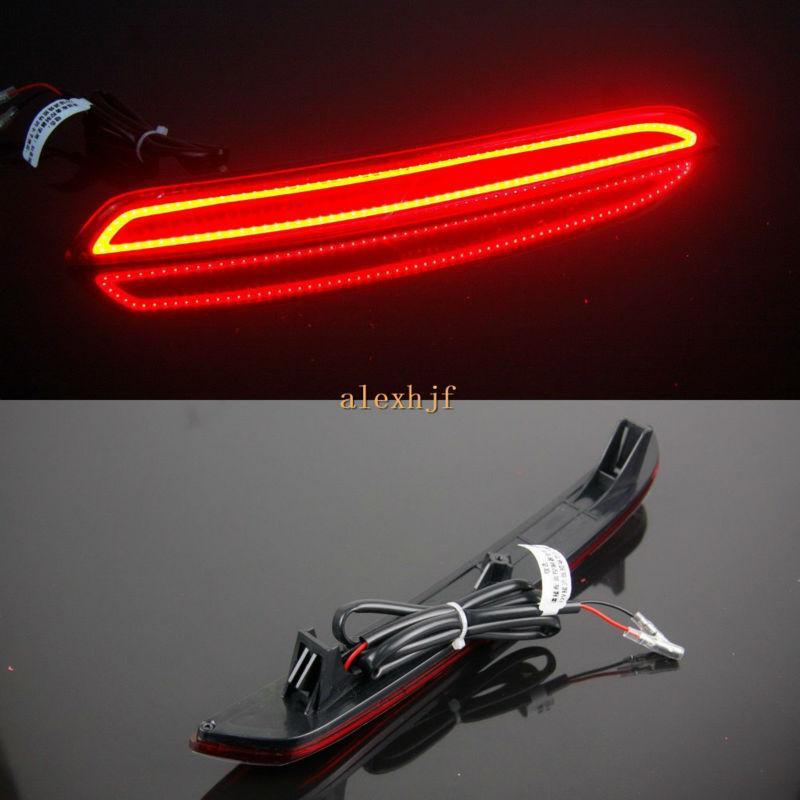 LED voiture Guide lumière pare-chocs arrière Feux de freinage cas pour Honda Crider 2013-16, Feux de freinage + clignotants + nuit Courir Feux d'avertissement DRL
