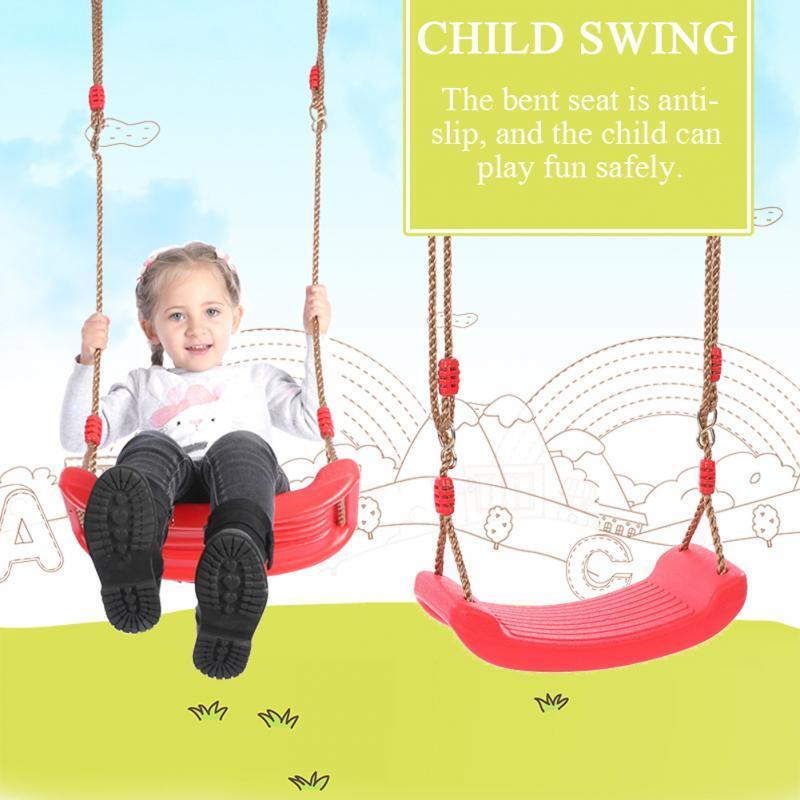 Haute Qualité Enfant Balançoire Corde Jouets pour enfants Nouveau plastique Swings Jouets ceinture Hanging Jardin d'enfants Terrain de jeu Cadeaux