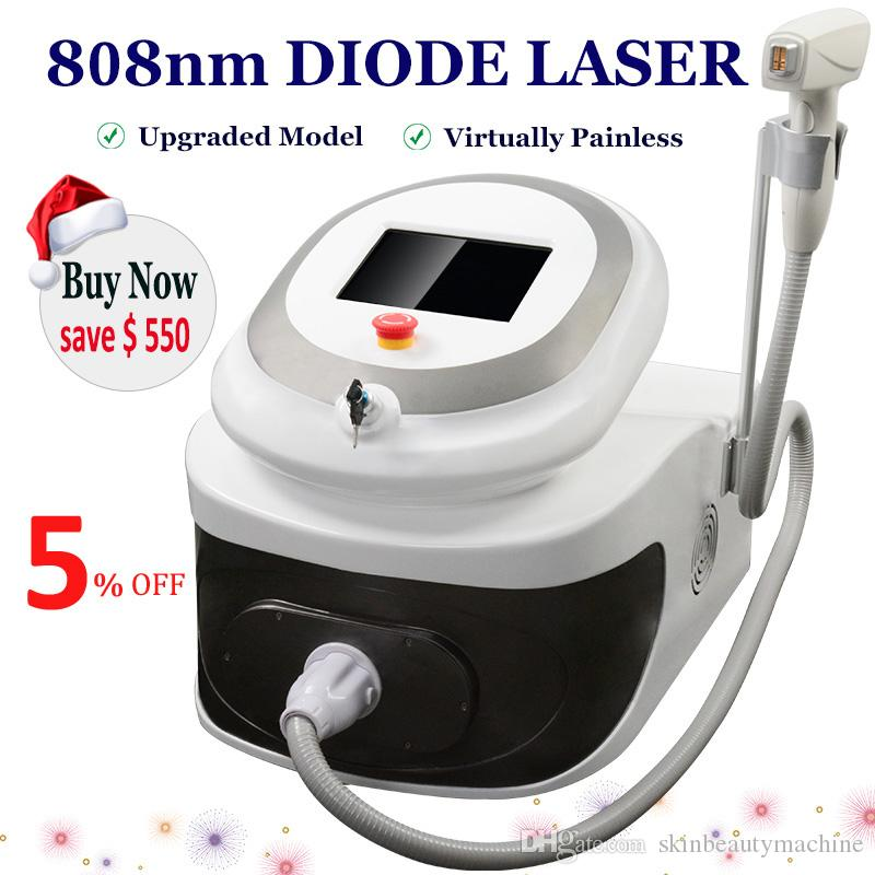 2021 Newest Diode Laser Hair Removal Machine 808nm Ice Point Soprano Lazer Diode Remove Hairs Painfree Permanently