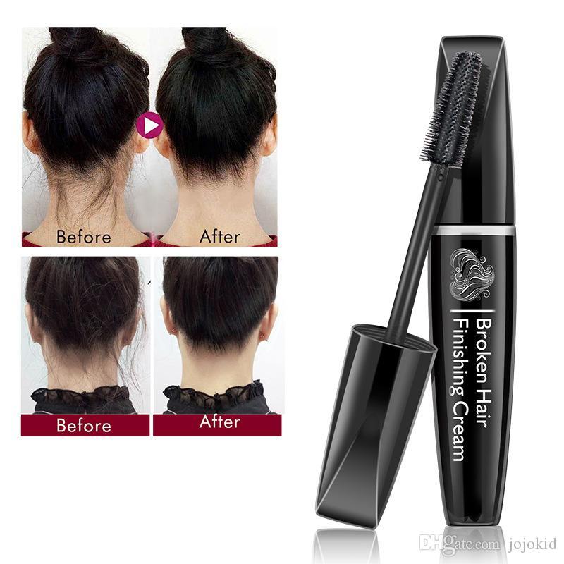 ALIVER 15ML الشعر يشعر التشطيب كسر عصا صغيرة الشعر منعش تشكيل كريم جل الشعر الشمع عصا إصلاح الانفجار الصورة النمطية كريم B