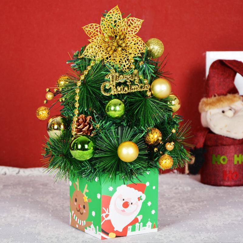 Presentes 30 centímetros Enfeite Festa Festival de Natal DIY Showcase Escritório Ornamento crianças Xmas Decoração base do suporte T3 Aleatório