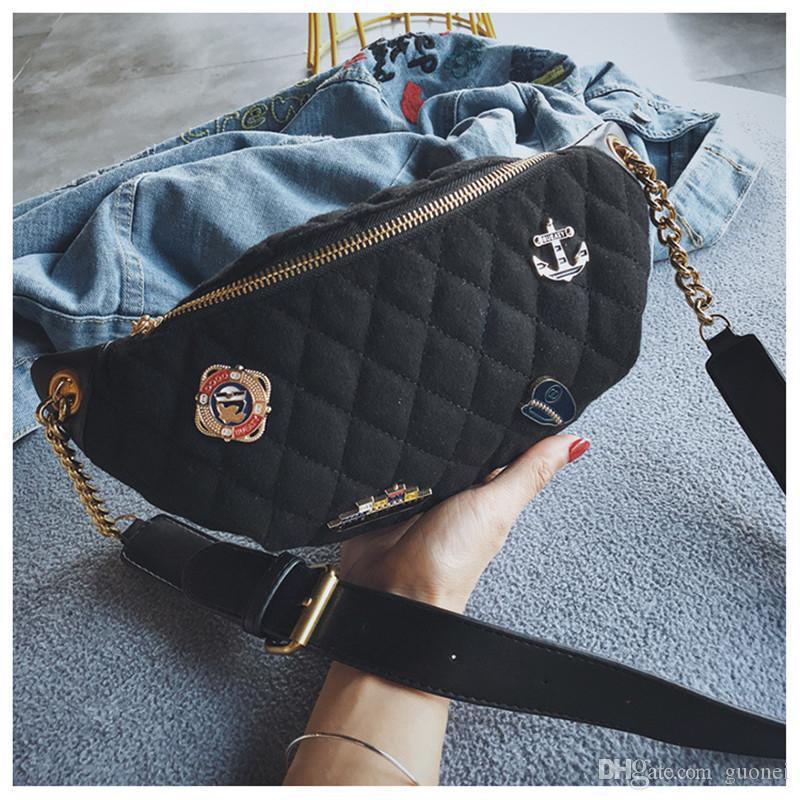 Fabrik Luxus Wafernbag Geldbörsen Designer Taille Kleine Neue Damen Hot Abzeichen Brusttasche Herren Designer Mini Handtaschen Mode Tasche Mädchen Taschen H HXLJ