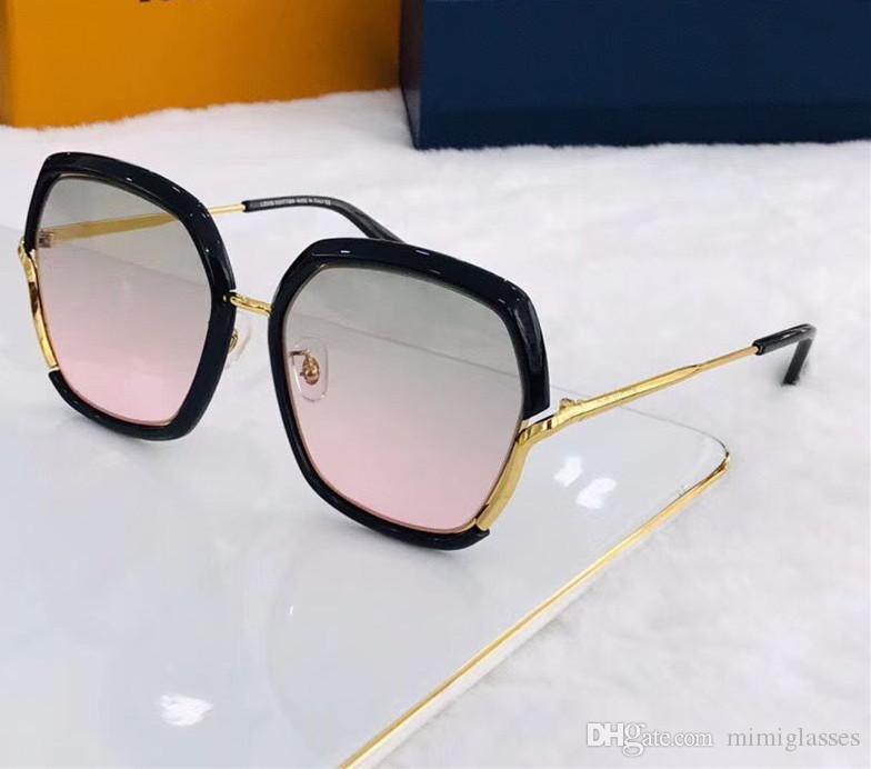 Le nouveau concepteur de mode lunettes de soleil cadre carré recouvert de lentilles réfléchissantes UV400 protection haut de lunettes ultra-léger de qualité 8080