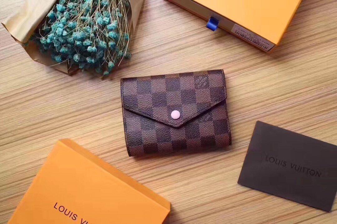 porte-monnaie en cuir gros pour les femmes multicolores court femmes porte de cartes de bourse de portefeuille de poche Victorine fermeture classique