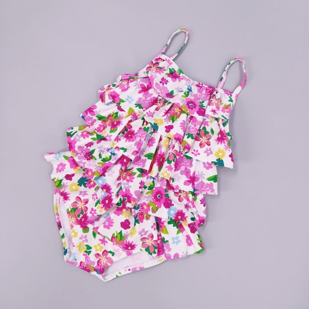 Chumhey 0-24 Mesi Neonate Swimwear Infant costume da bagno di un pezzo Bebe vestito del bagno di estate dei capretti costume da bagno bambini vestito di nuoto