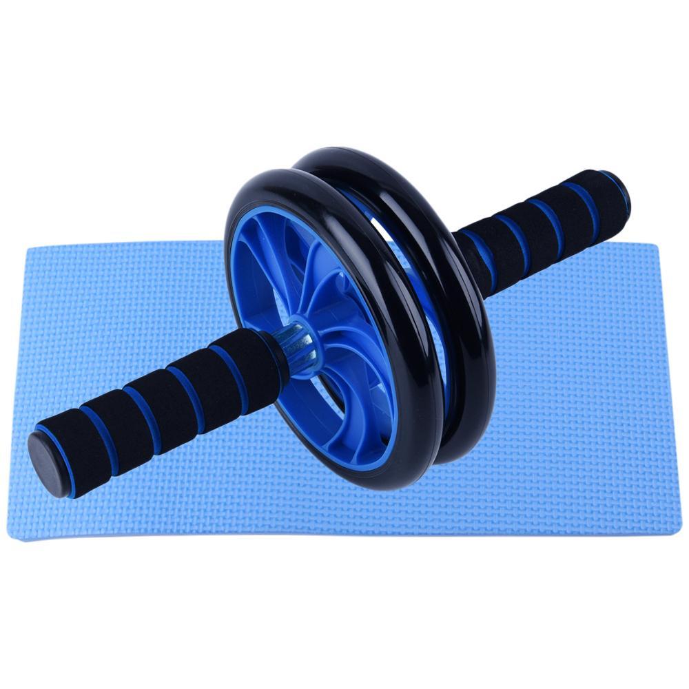 5 PCS Home Gym Set fitness AB Wheel Roller addominale 8 Forma fascia di resistenza salto della corda push up bar pacchetto Y200506