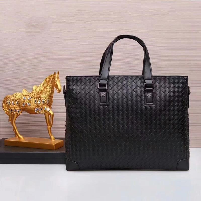 Designer-2018 Nouveau hommes d'arrivée sac CÉLÈBRE sacs à main en cuir véritable sacs de marque porte-documents sac d'ordinateur de grande capacité