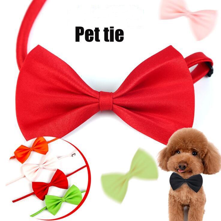 Haustier Kopfschmuck Hund Krawatte Hund Fliege Katze Krawatte Haustier Pflegevorräte Hundebekleidung Multicolor kann wählen