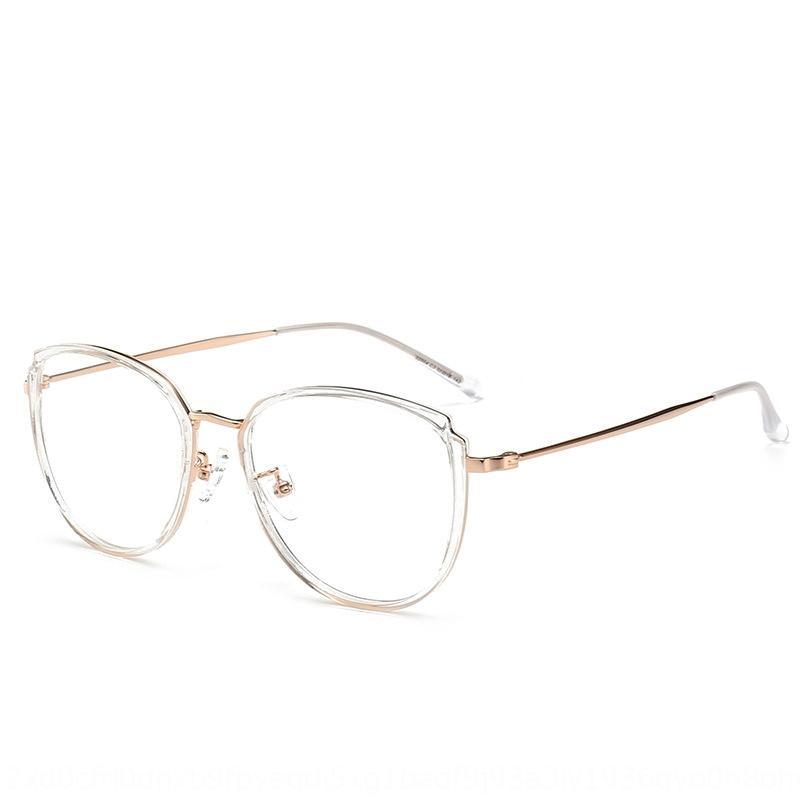 Olhos wo óculos vermelhos literária de aparência simples personalidade miopia on-line Óculos grandes homens quadro transparentes e quadro jKaMS das mulheres