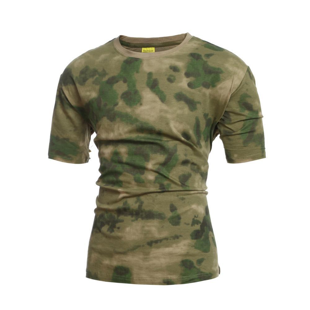 Наведите курсор мыши на изображение, чтобы увеличить детали A-TACS FG Camo T-Shirt ЛИСТВА ЗЕЛЕНЫЙ армии морской пехоты USMC пейнтбола Спецназ тенниску