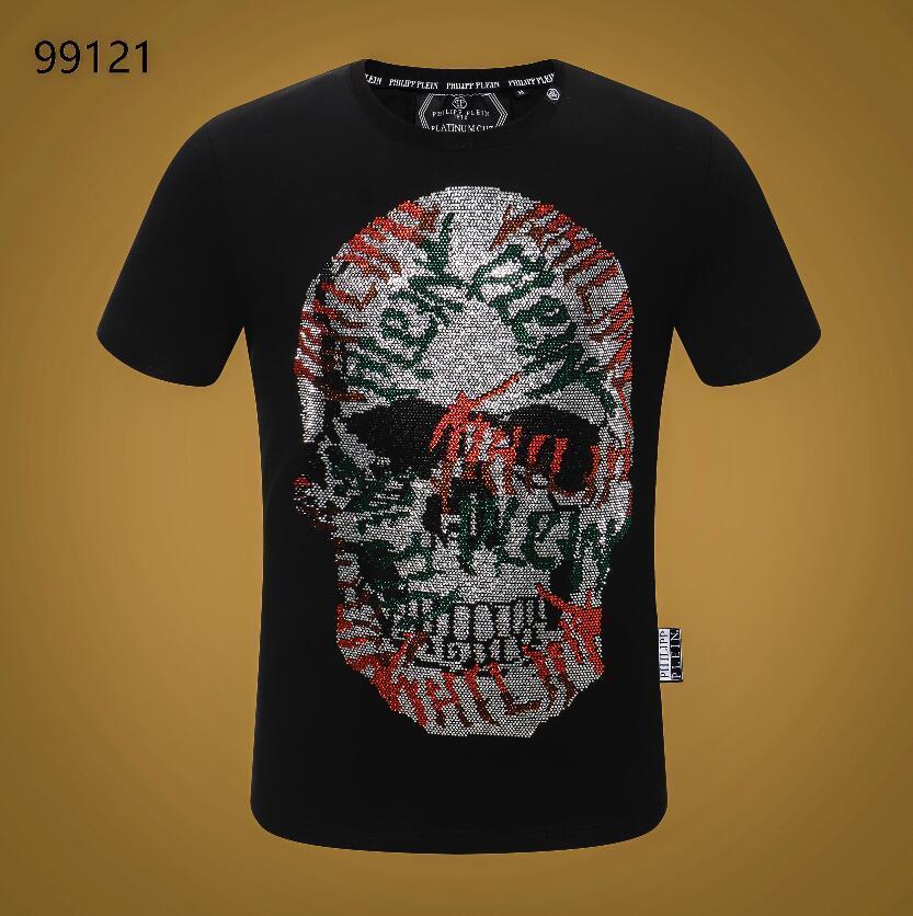 t shirt manica corta 2020 nuova estate del cotone maglietta floreale Snake stampa di modo degli uomini di marca T-shirt da Uomo lusso Homme # 6077 T-shirt