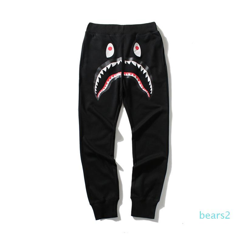 Top qualité Automne Hiver Hommes \ »; S Pantalon en vrac Camo coton Casual Adolescent Cartoon Imprimé Pantalon Camo Vert Noir mince pantalon gratuit S