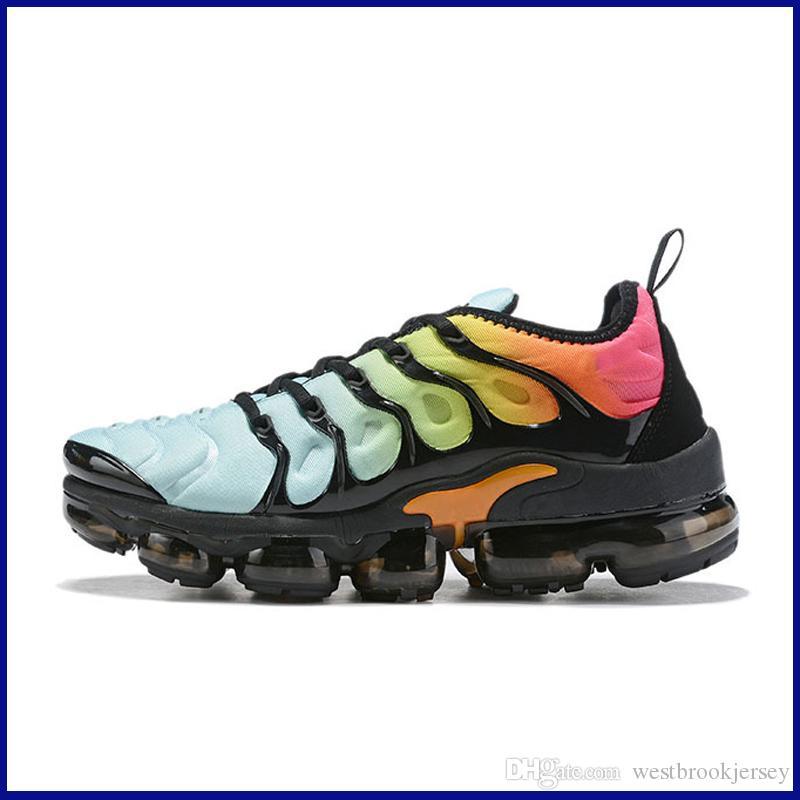 Marca TN Plus diseñador para hombre de las zapatillas de deporte al aire libre Tns zapato zapatos gimnasia de gris negro blanco deporte Entrenadores Chaussures