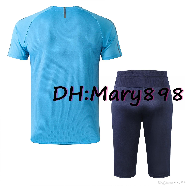 Alle Herrenfußball-Jersey-Kurzarm-Trainingsanzug-Kits / benutzerdefinierte Name und -nummer / Notwendigkeit, Anfrage zu wenden, ob es Inventar gibt