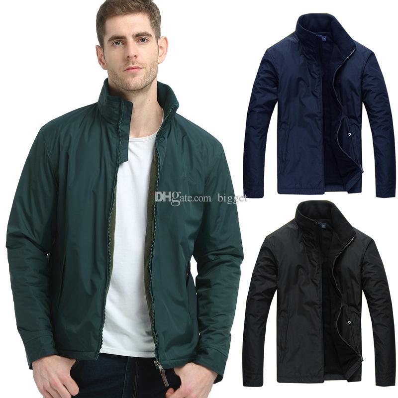 Fleece Inside Thick Warm Jacket Men Quilted Sleeves Proof Water Nylon Windbreaker Wear Hide Hooded Outerwear