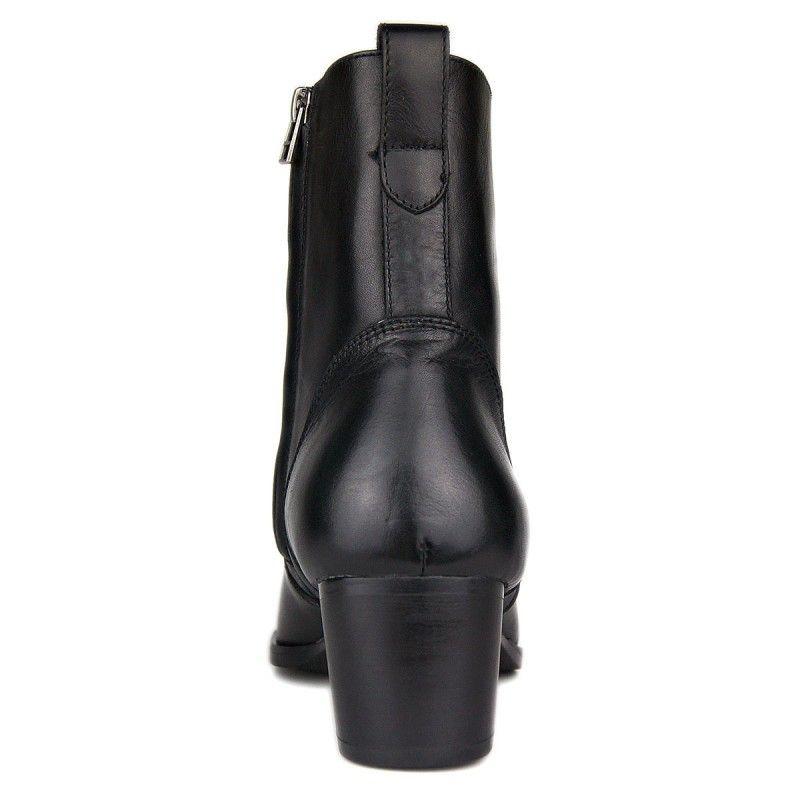 Plus Size 46 Nero metà polpaccio Stivali da cowboy di modo degli uomini cerniera laterale punta aguzza Tacchi alti Vera Pelle Work Boots uomo Calzature