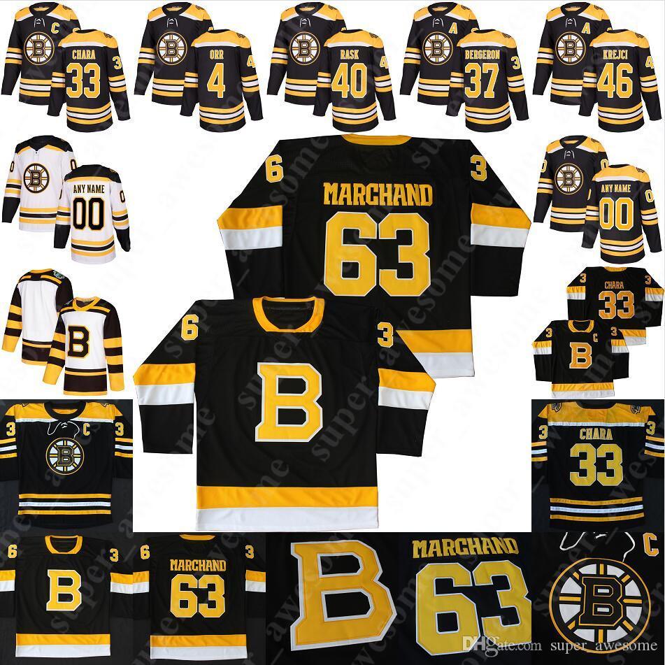 Boston Bruins Jersey David Krejci Torey Krug Charlie McAvoy Jake DeBrusk Danton Heinen Tuukka Rask Sean Kuraly Matt Grzelcyk David Backes