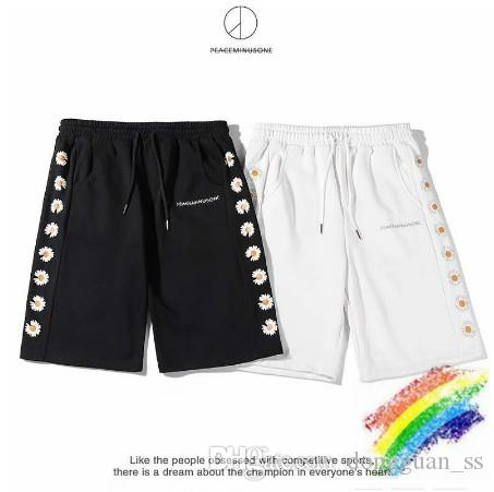 dongguan_ss Noir Blanc XL Hommes Shorts Summer Style de plage Vêtements de sport Shorts Streetwear