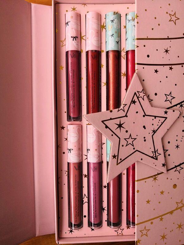 Trasporto di goccia di alta qualità 12 colori Lip colori regalo di natale labbra colori regali di Natale Consegna gratuita