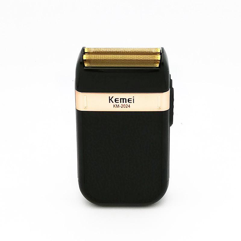 Kemei Electric Shaver pour hommes Twin Blade étanche Rasoir sans fil de rasoir USB Machine de rasage rechargeable coiffeur