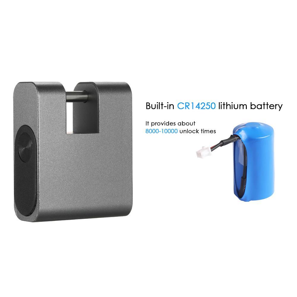 Hot BT Smart Keyless Lock Waterproof APP Unlock Anti-Theft Padlock Door Luggage Case Locker Lock for Android iOS System Home Too