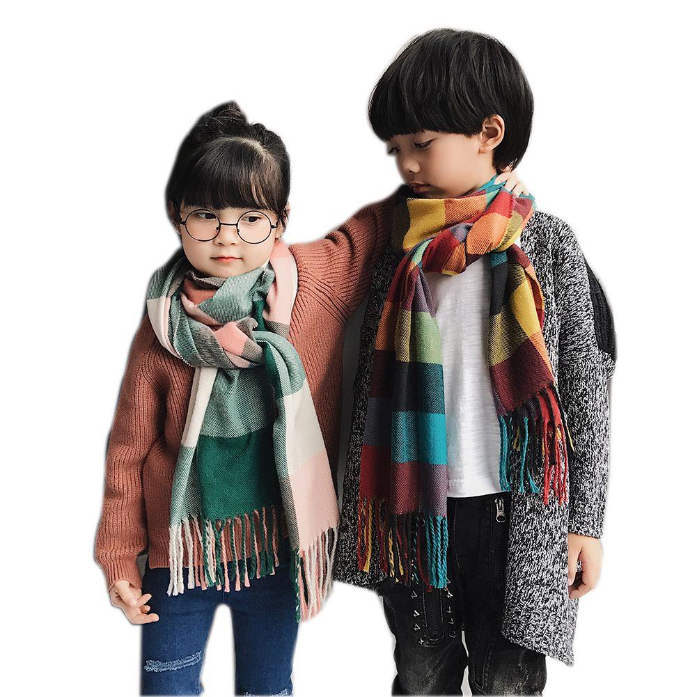 2020 2019 Plaid Scarf Children Winter Shawls Warm Foulard For Child  Cashmere Neck Wraps Unisex Retro Lattice Echarpe Kids Scarves Bufanda From  Yydreamer, $10.06 | DHgate.Com