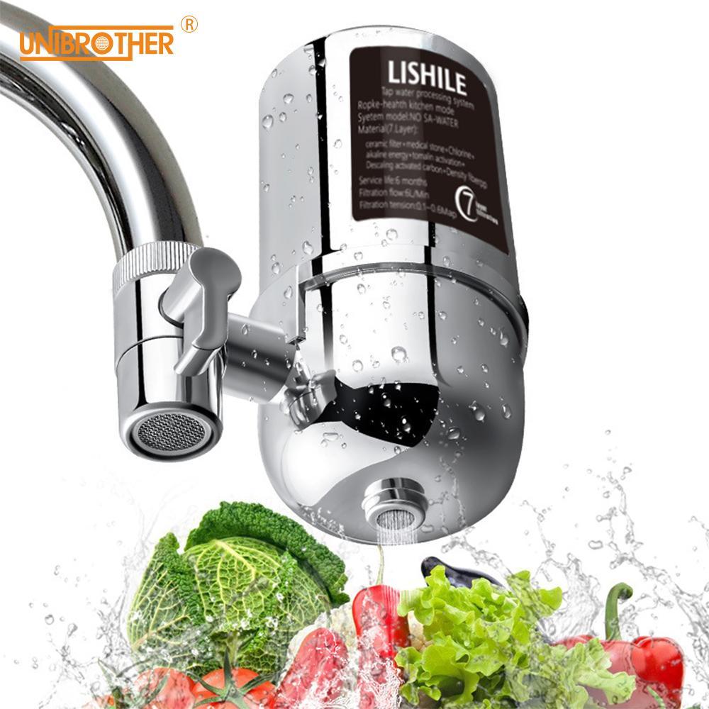 Mutfak Sağlık Cephesi İçin Ev Mutfak Musluk Suyu arıtma Su Filtresi Karbon Musluk İçme filtro dropshipping Aktif